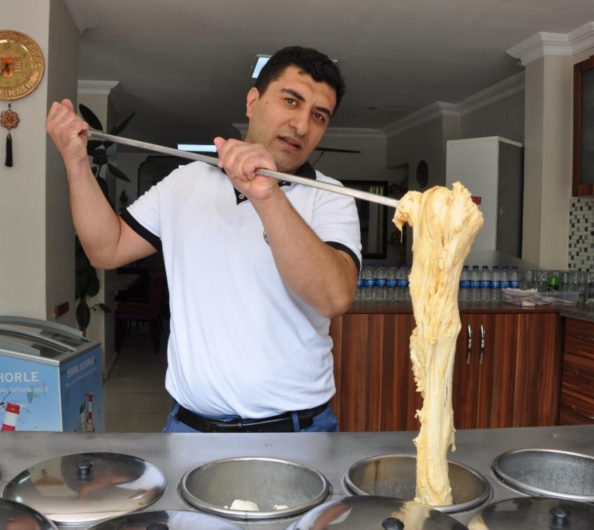 Mesir macunu Maraş dondurmasıyla birleşti