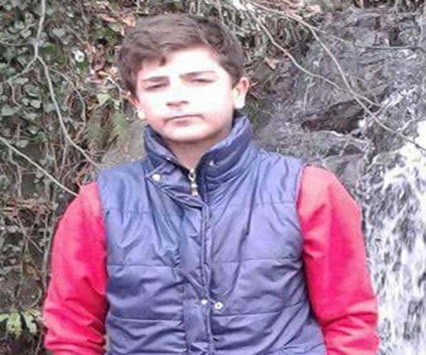 Kafasını patoza kaptıran çocuk hayatını kaybetti