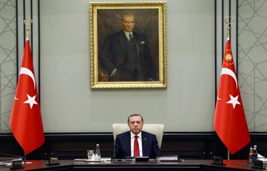 KKTC Başbakanı Erhürman'ı kabul etti