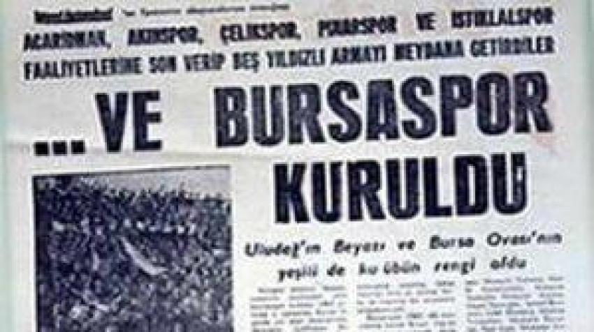 Bursaspor 57 yaşında