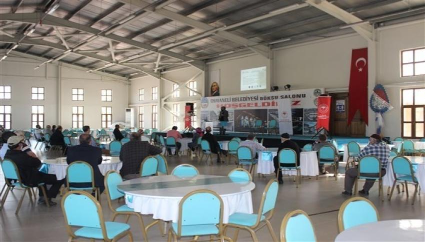 Çiftçilere ceviz yetiştiriciliği ve dijital satış semineri verildi