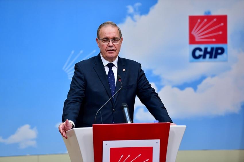 CHP'den 'İdris Naim Şahin' açıklaması