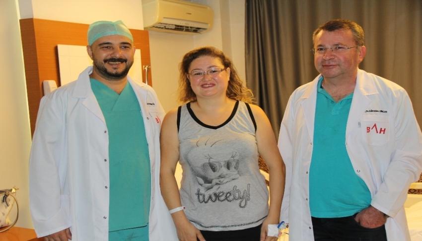 Hamile sanıp yer veriyorlardı, karnından 6 kilo kitle çıktı