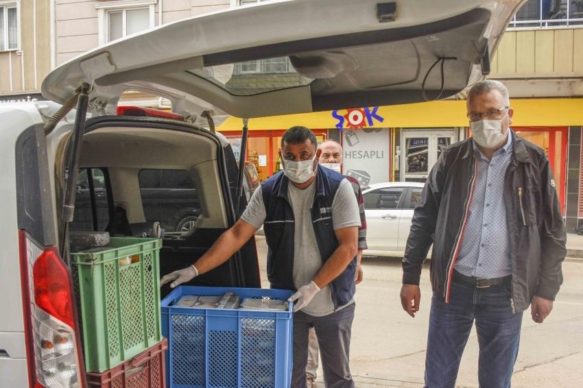 Karacabey'de aşevi ihtiyaç sahiplerine büyük katkı sağlıyor