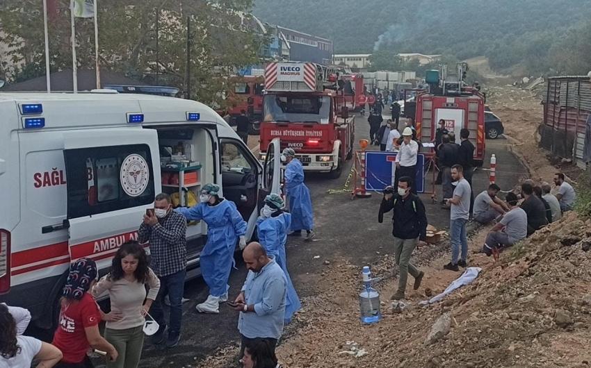 Bursa'daki fabrika patlamasının detayları