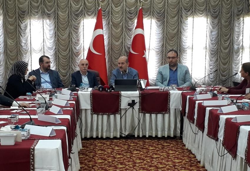 İçişleri Bakanı Soylu kazaların bilançosunu açıkladı