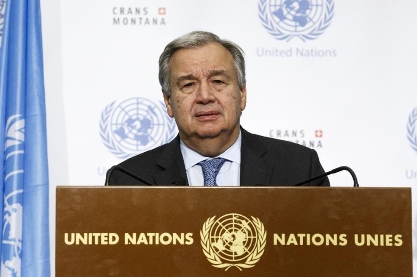 """Guterres: """"Ateşkese rağmen Doğu Guta'da çatışma yoğunlaştı"""""""
