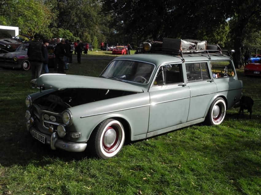 Klasik arabalar Stockholm'de ilgi gördü