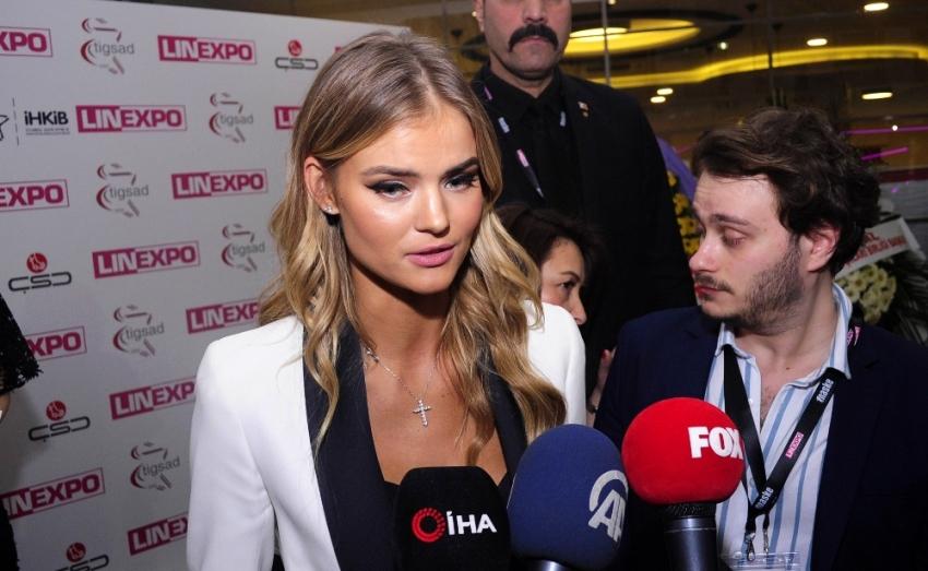 Rus top model İstanbul'da