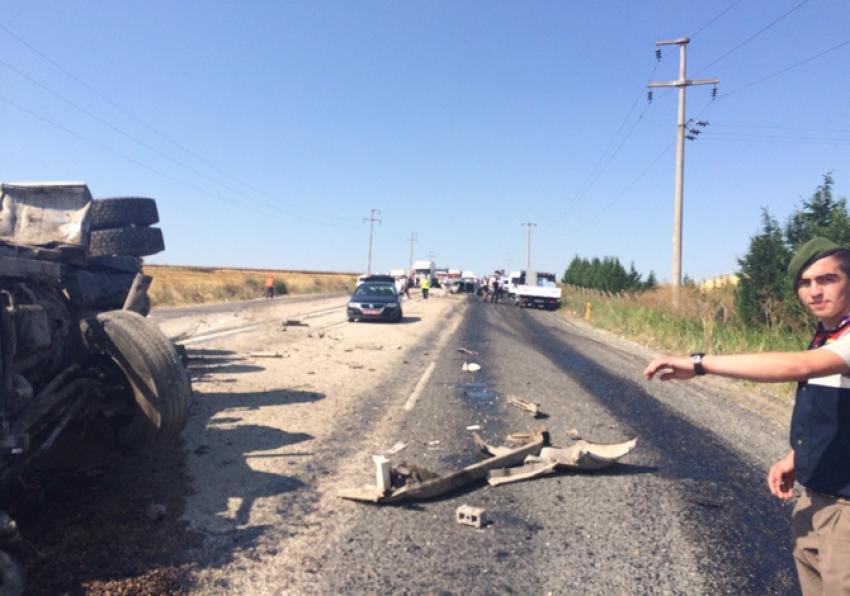 Kırklareli'nde feci kaza: 2 ölü