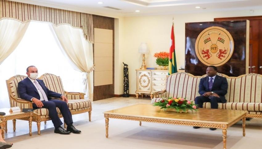 Çavuşoğlu, Togo Cumhurbaşkanı Gnassingbé ile görüştü