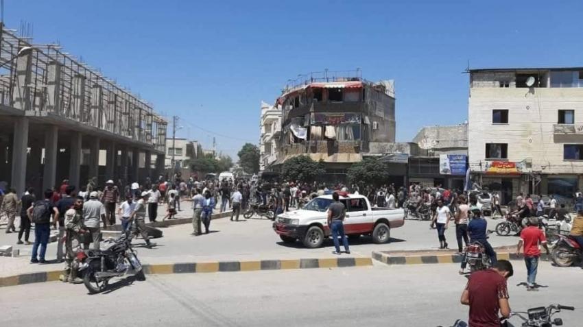 Azez'de patlama: Ölü ve yaralılar var