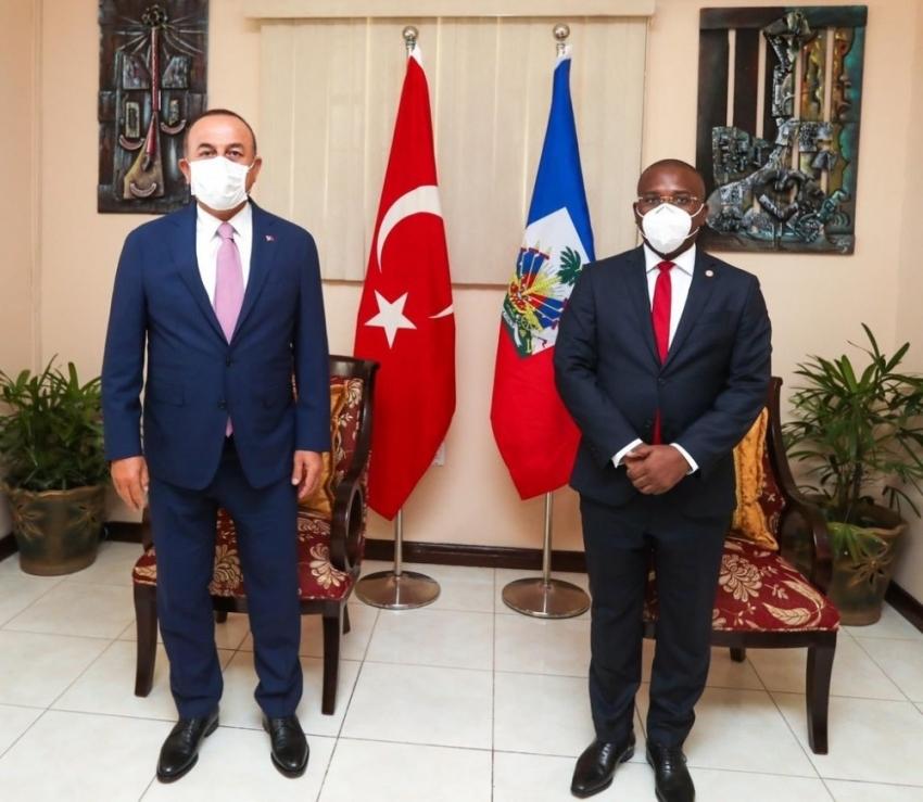 Dışişleri Bakan Mevlüt Çavuşoğlu, Haiti'de