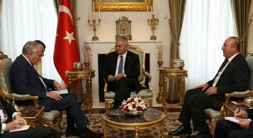 Başbakan Yıldırım Fransız Bakan'la görüştü