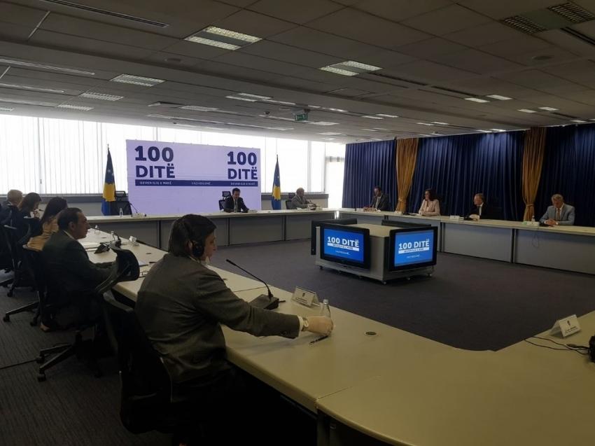 Kosova hükümetinden 100 günlük değerlendirme