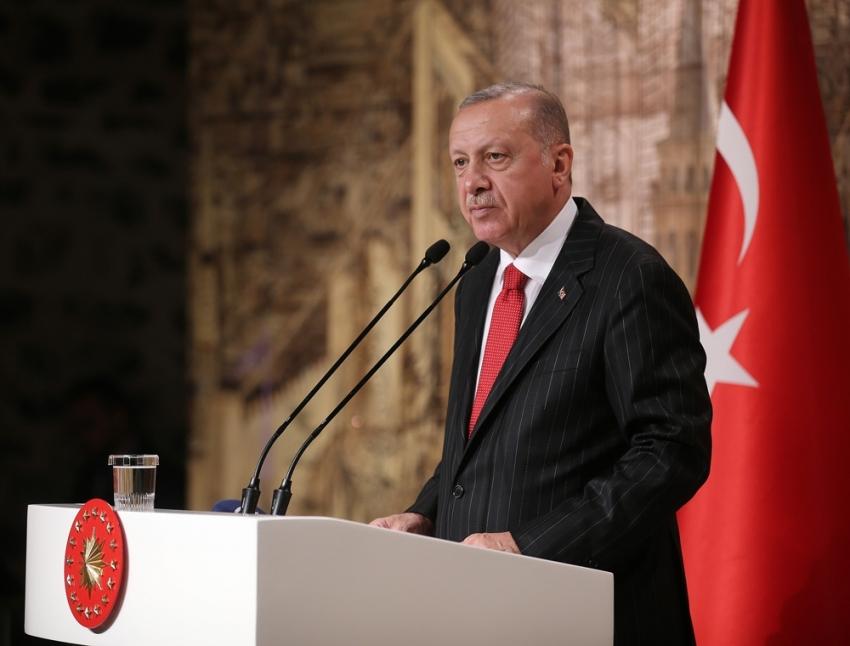 Cumhurbaşkanı Erdoğan, yabancı basın temsilcileri ile bir araya geldi