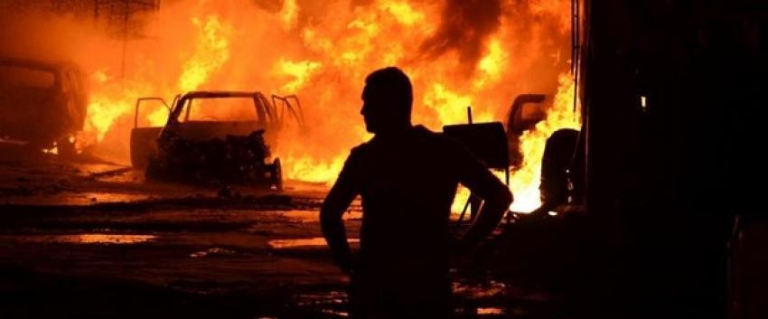 Bağdat'ta patlama: 3 ölü, 8 yaralı