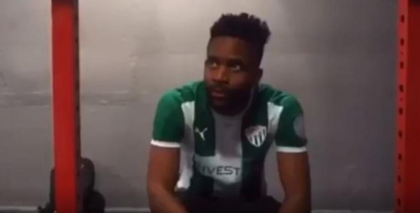Bakambu'dan Bursaspor formalı video!