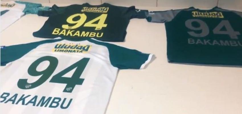 Bursaspor Bakambu'nun formalarını hazırladı