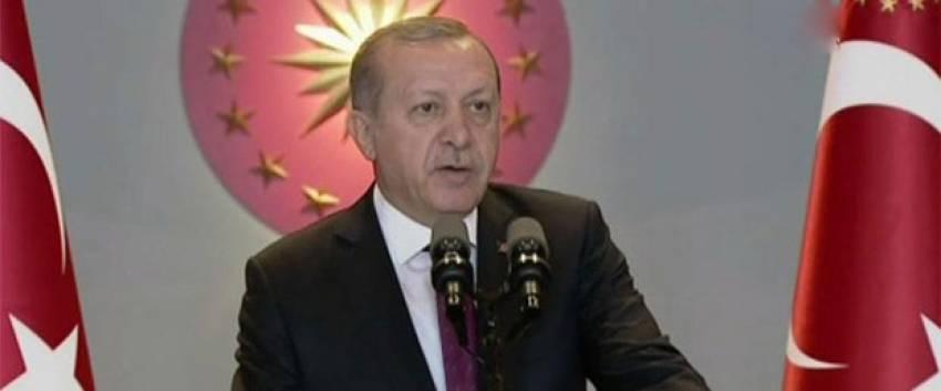 """Erdoğan:""""Türkiye çok büyük saldırı altındadır"""""""