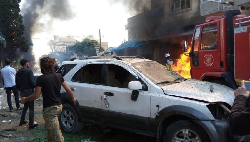 Cerablus'ta çifte patlama: 2 ölü, 14 yaralı