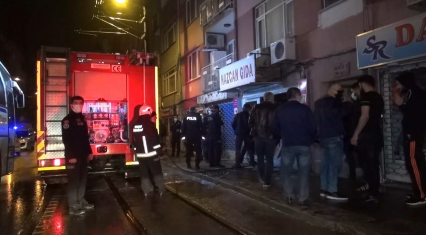 Bursa'da molotoflu saldırı
