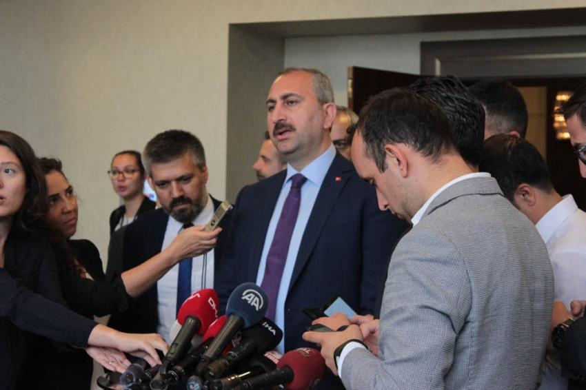 Çevre ve Şehircilik Bakanı Murat Kurum afet bölgesinde