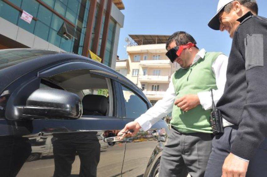 Trafik ekiplerinden Bursalı sürücülere ilginç test!