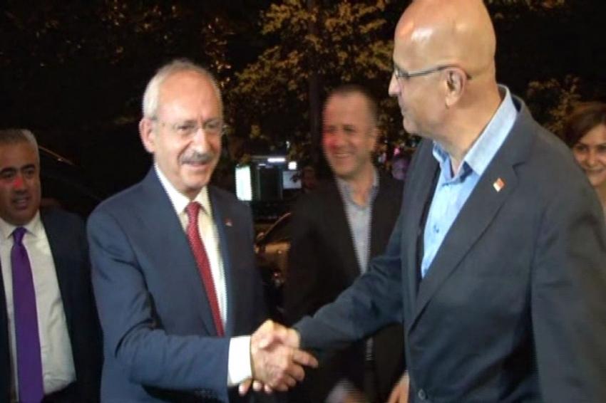 Kılıçdaroğlu, Enis Berberoğlu ile bir araya geldi