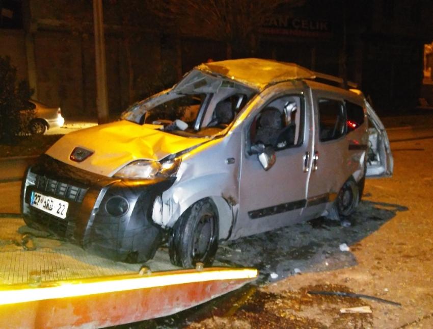 Asker uğurlamadan dönüşte kaza: 1 ölü, 7 yaralı