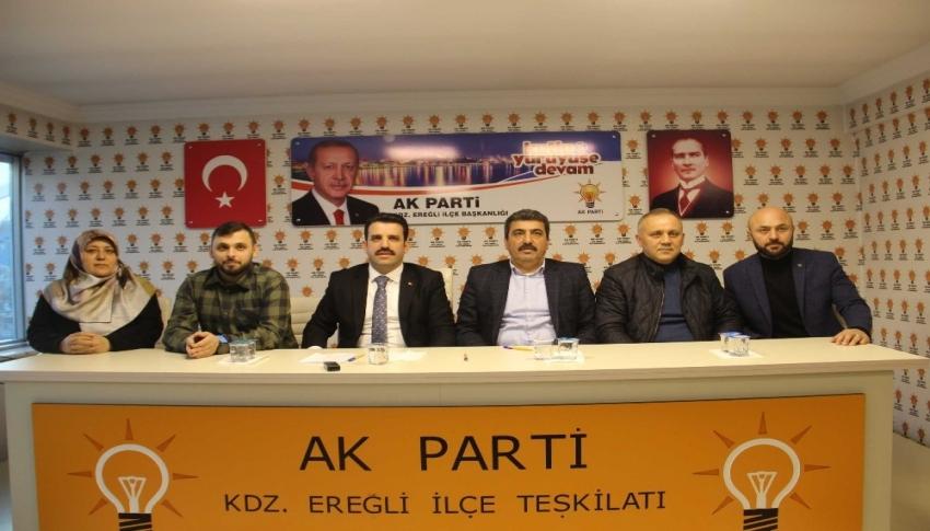 AK Parti ilçe başkanı Çakır 2019 yılını değerlendirdi