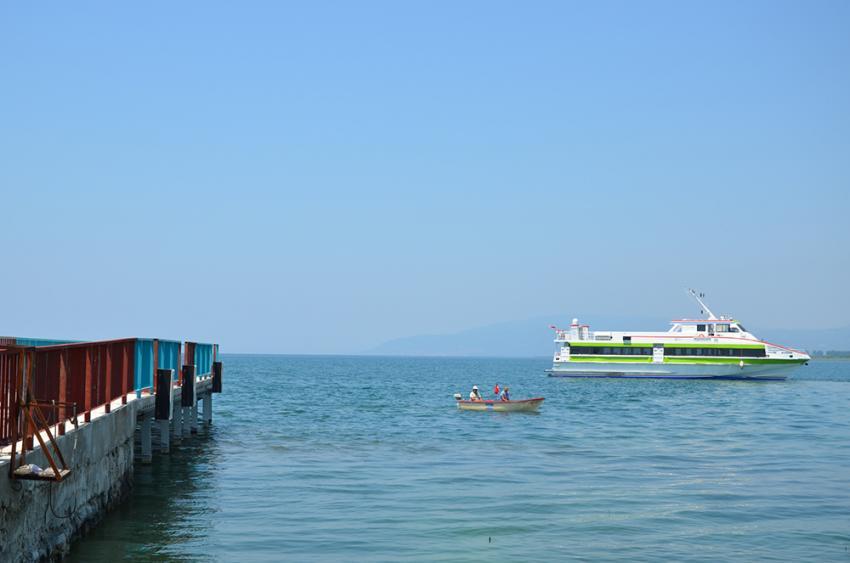 İznik Gölü'nde Deniz Otobüsü seferleri başladı