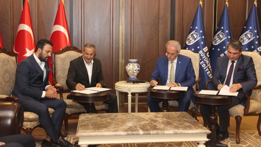 Eğitime destek protokolü imzalandı