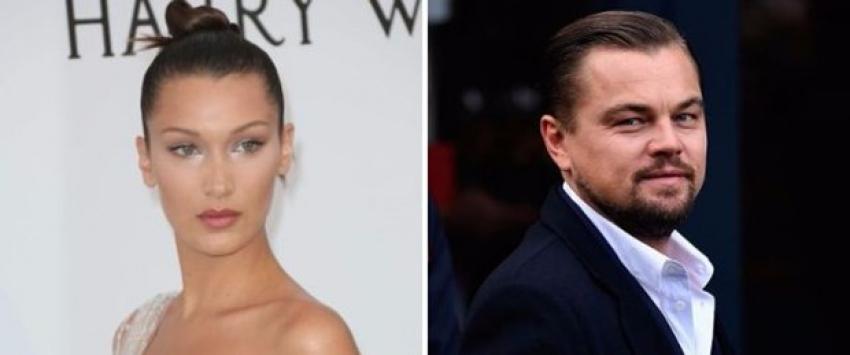 Bella Hadid'den Leonardo DiCaprio'ya ret