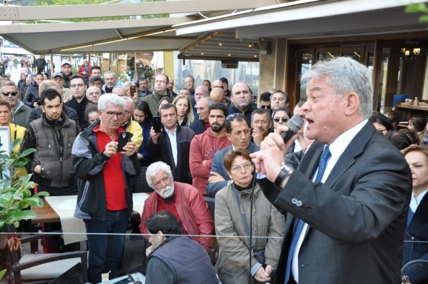 CHP yönetimine ateş püskürerek istifa etti