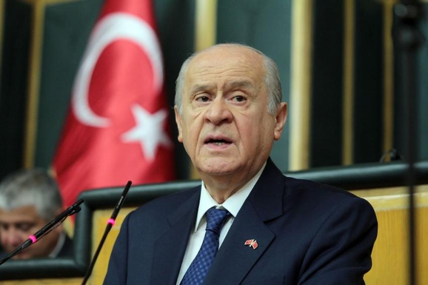 """Bahçeli: """"Türkiye terörle mücadeleyi cesaretle, kararlılıkla devam ettirmelidir"""""""