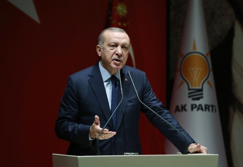 Erdoğan'dan teşkilata uyarı