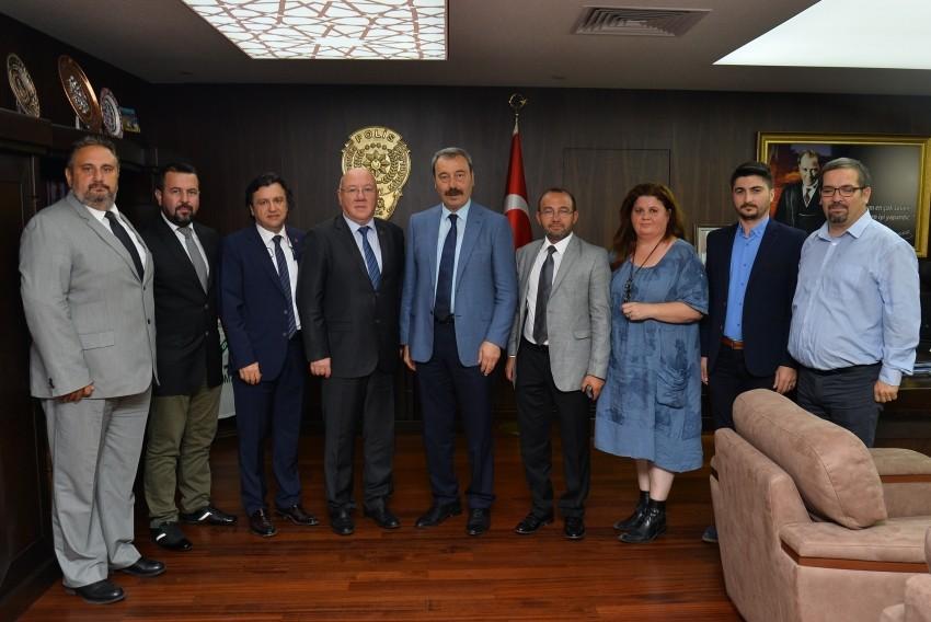 BGC'den Emniyet Müdürü Osman Ak'a ziyaret