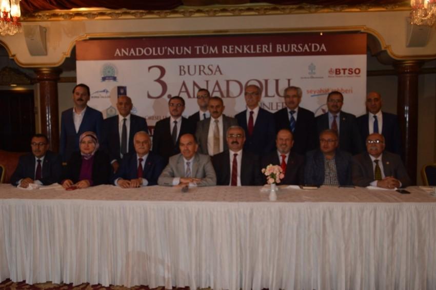 Anadolu'nun tüm renkleri Bursa'da buluşuyor