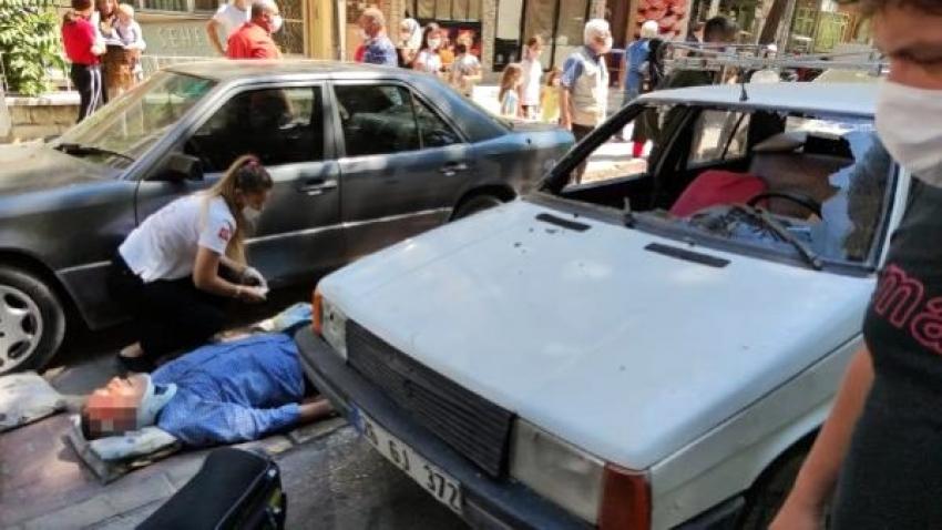 Bursa'da ehliyetsiz kadın sürücü...