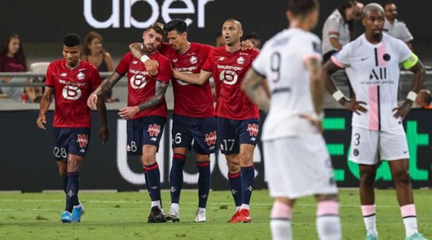 PSG'yi deviren Lille, Fransa Süper Kupası'nın sahibi oldu