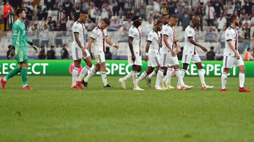 Beşiktaş, Borussia Dortmund'a 2-1 mağlup oldu