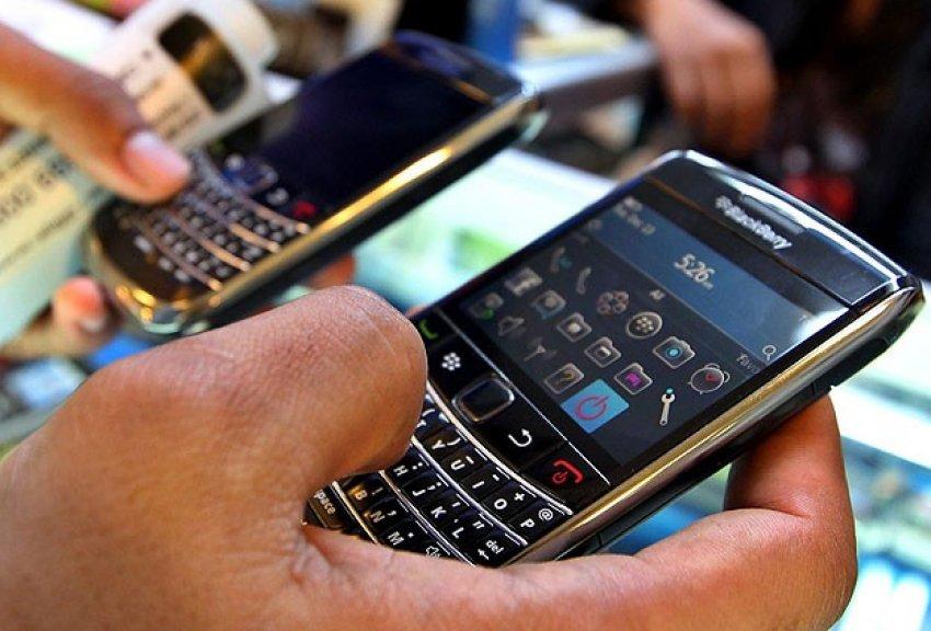 BlackBerry kan kaybediyor