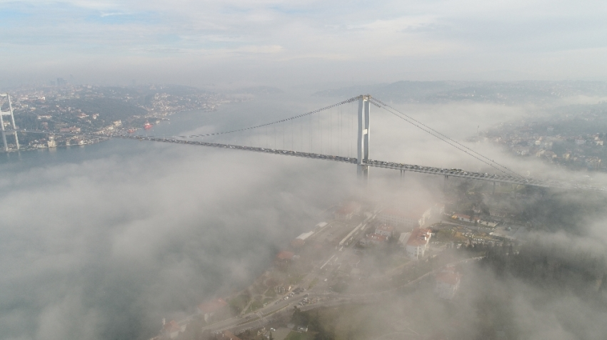 İstanbul Boğazından kartpostallık manzara