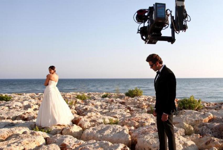 Bollywood'un iki ünlü ismi Antalya'da buluştu