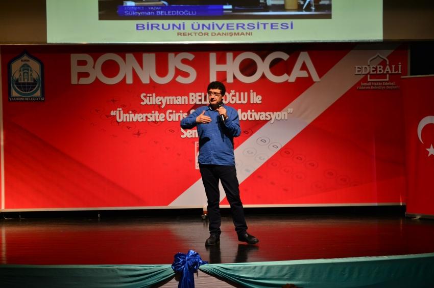 Bonus Hoca'dan Bursalı öğrencilere ipuçları