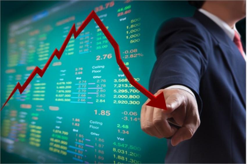 Borsa adeta çakıldı