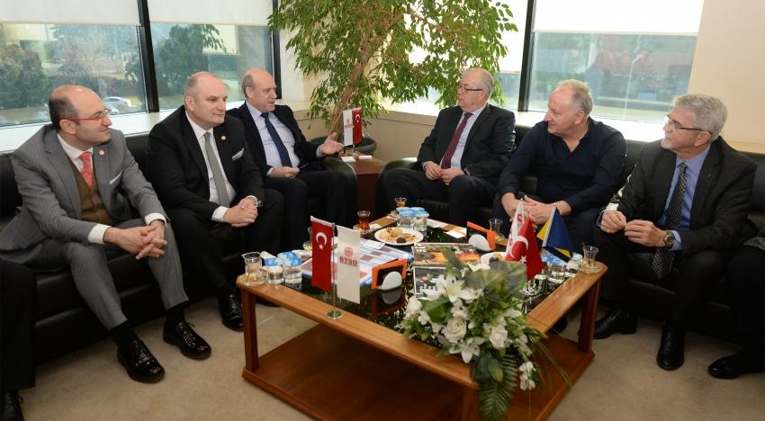 Bosna'dan Bursa'ya işbirliği teklifi