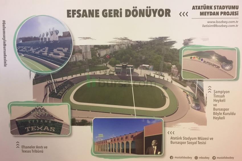İşte Bozbey'in Atatürk Stadı projesi