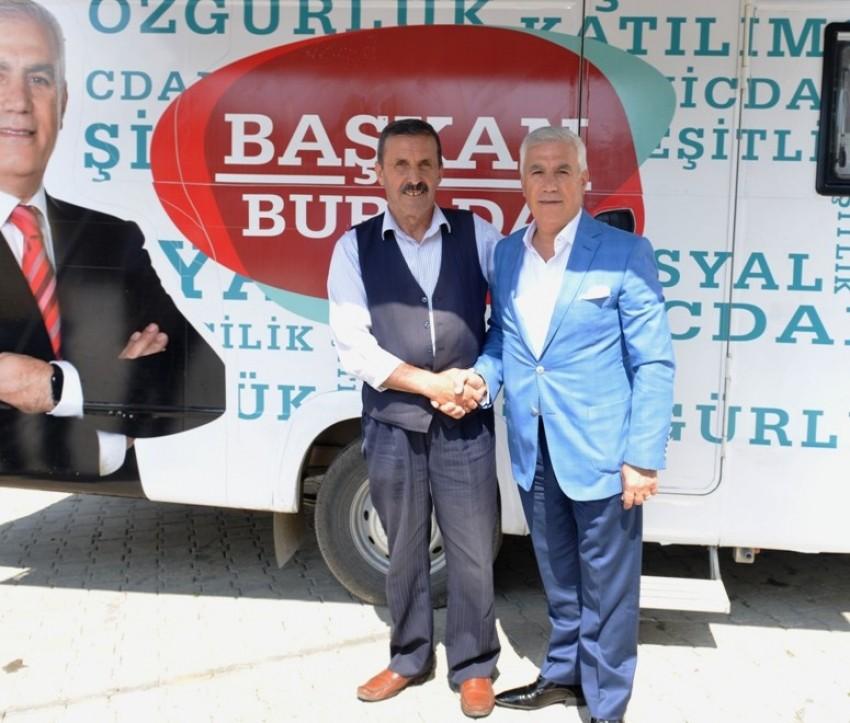 Başkan Mustafa Bozbey, Kadriye Mahallesi'nde